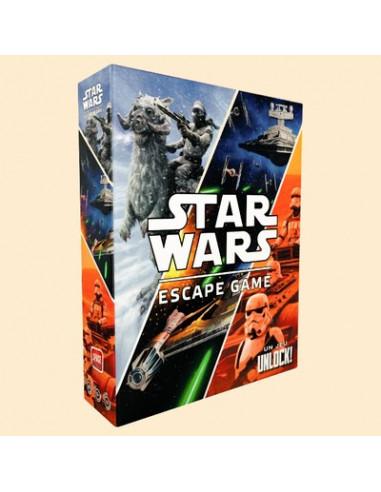 Unlock ! Star wars (jeu coopératif escape game dès 10 ans !)